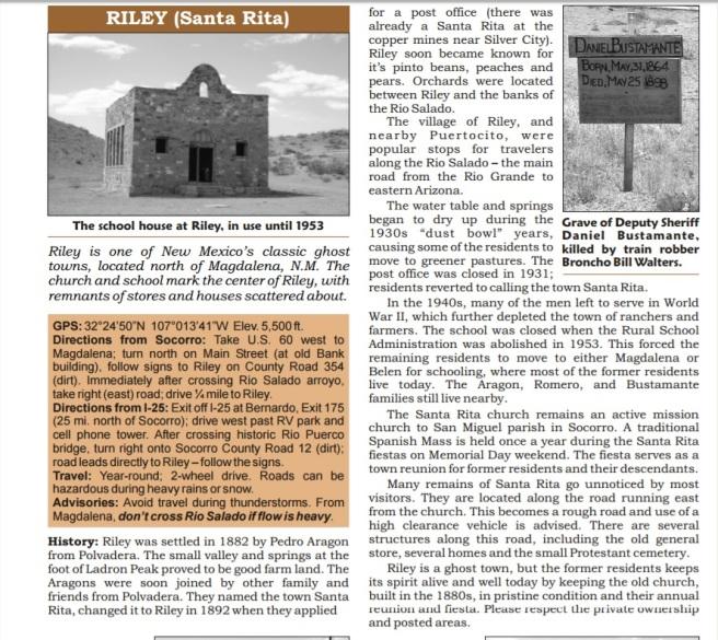 Santa Rita history